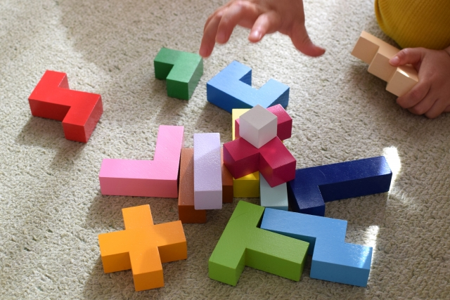 積み木だけどパズル、パズルだけど積み木~エド・インター社『立体パズル』