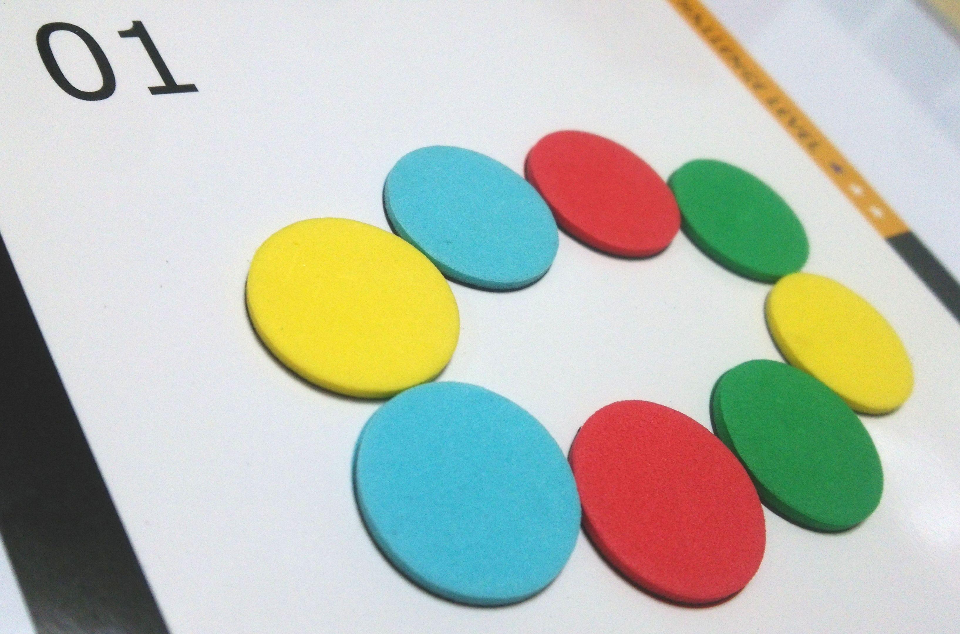 2歳児さんにおすすめしたい図形パズル~エド・インター社『幾何マグネ』