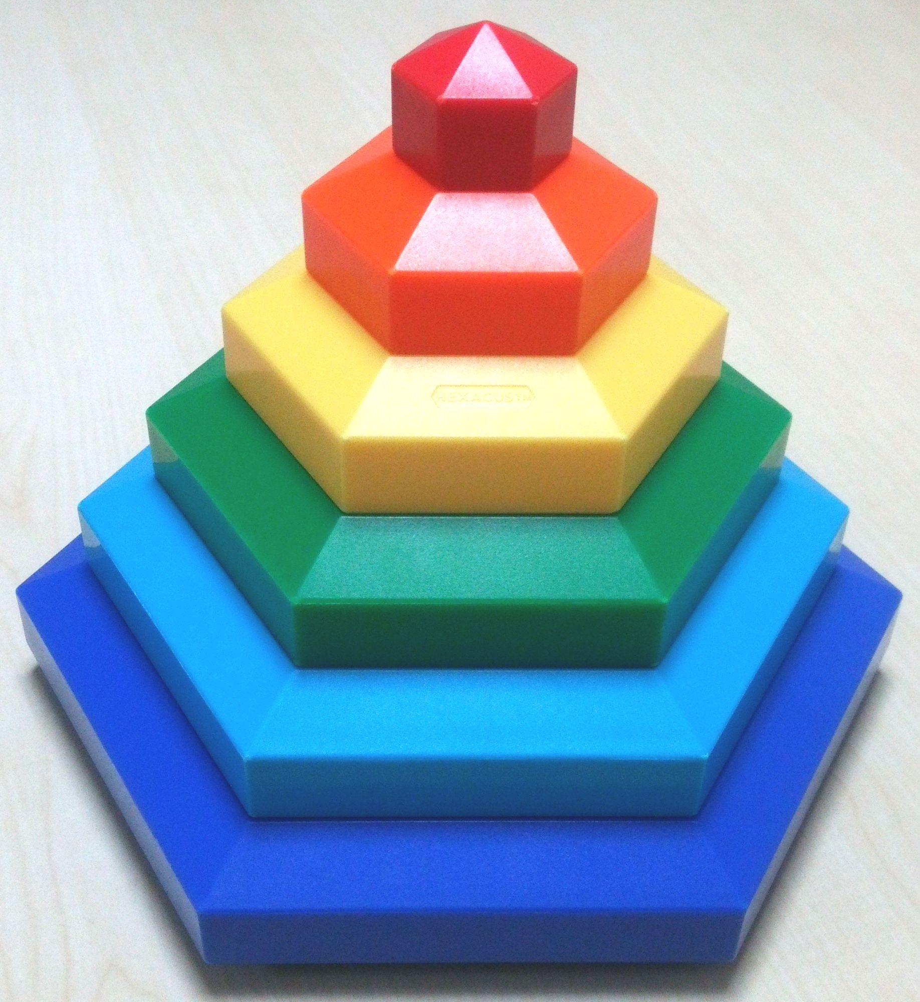 2歳児さん~年長さんまでが夢中で遊ぶおもちゃ、ボーネルンド『ヘキサカス』