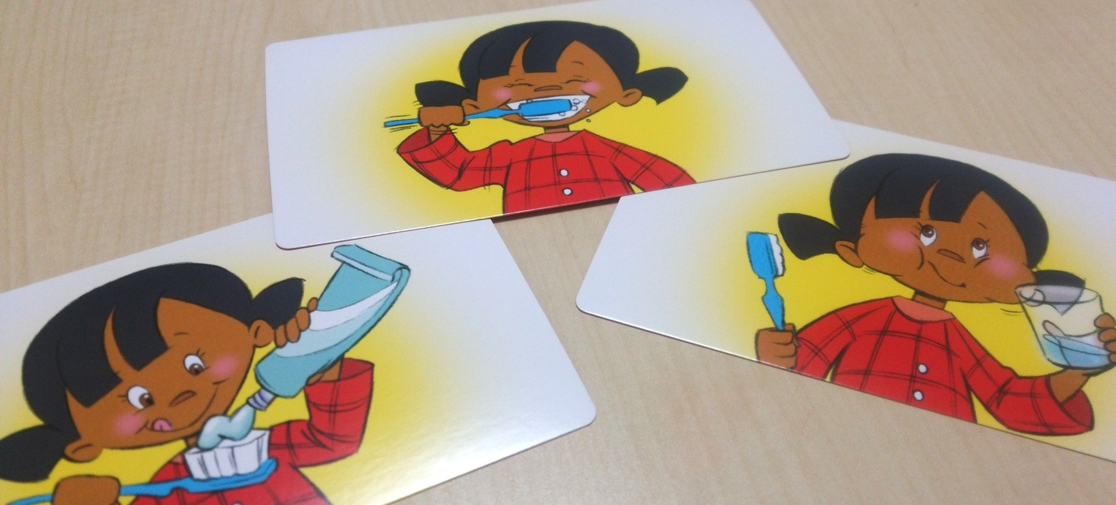 「お話づくり」で3歳児さん〜の論理性と表現力を高める『Sequence Rummy Challenge Cards 』